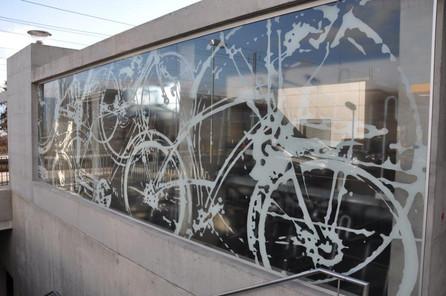 Aussenverglasung Fahrrad