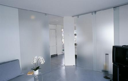 Ganzglasanlage Foyer